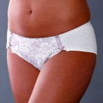 MATERNITY SHORTS: Floral Maternity Briefs