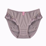MATERNITY BRIEFS: Grey and Pink Maternity Briefs