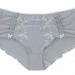 MATERNITY BRIEFS: Light Grey Maternity Briefs