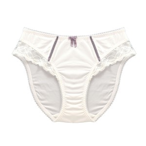 MATERNITY BRIEFS: Pearl White Maternity Briefs