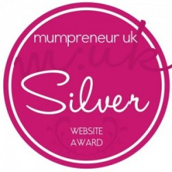 Mumpreneur UK Silver Website Award